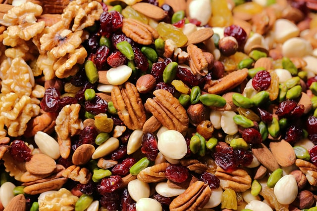 Nuts and Seeds for Diet and Nutrition