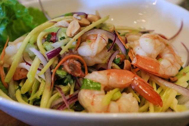 Seafood Salad Diet and Nutrition